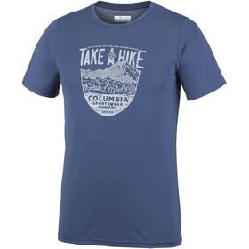 Columbia Laney Hill Miehet Lyhythihainen paita , sininen